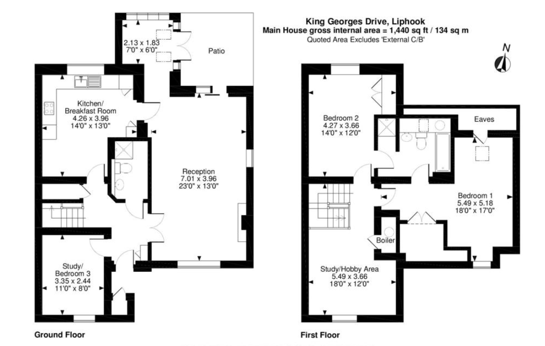 3 Kings Georges Drive Floorplans