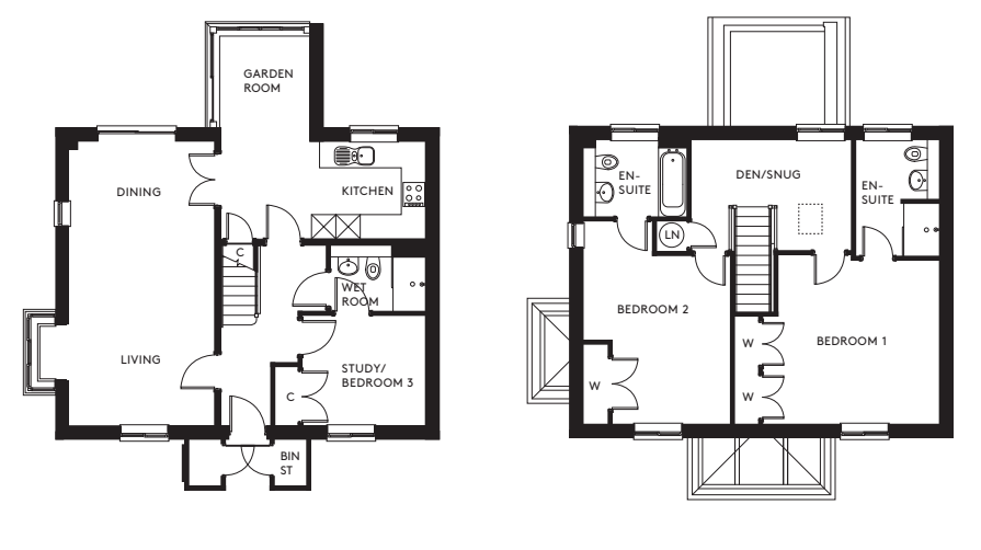34 Durrants Drive Floorplan