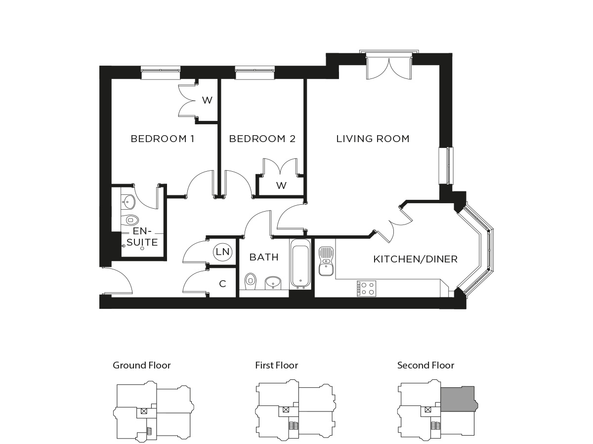 Durrants Plot Floorplan 135