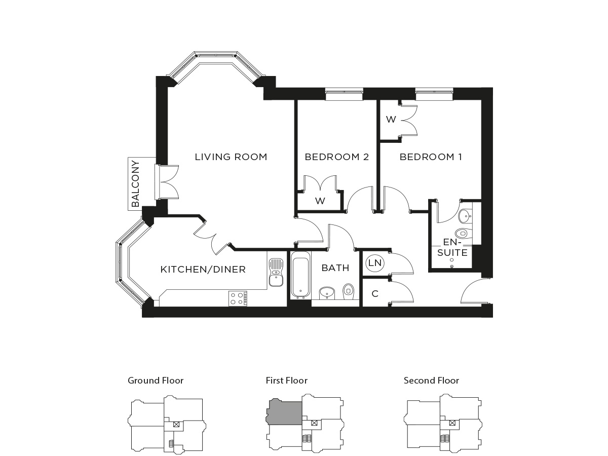 Durrants Plot Floorplan 169